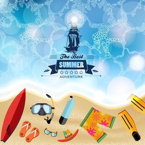 Beach Essentials för bästa sommaren