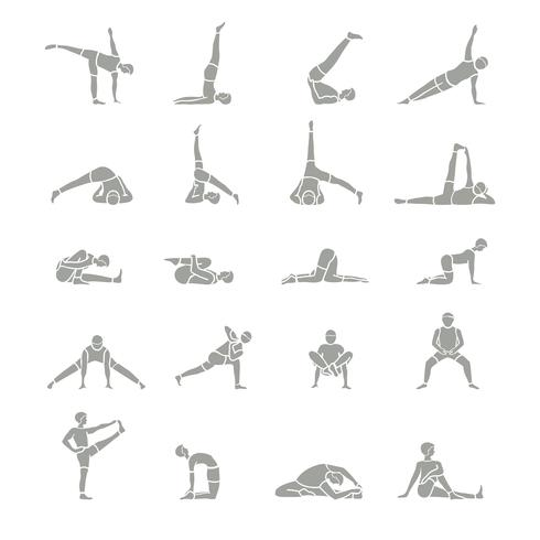 Yoga-Positions-Icons