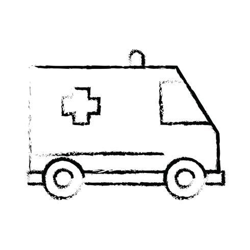 Ruwe lijn Perfect pictogram Vector of Pigtogram illustratie