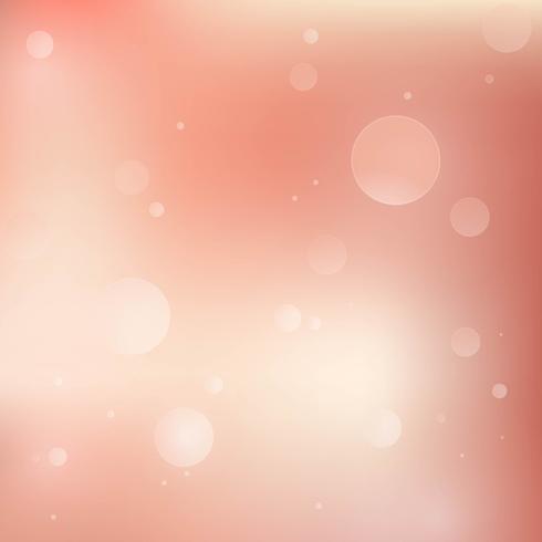 Bokeh de luz rosa vetor de fundo de ouro