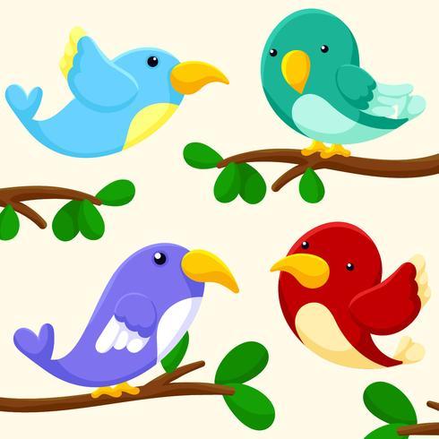 Bird Clipart Set vector