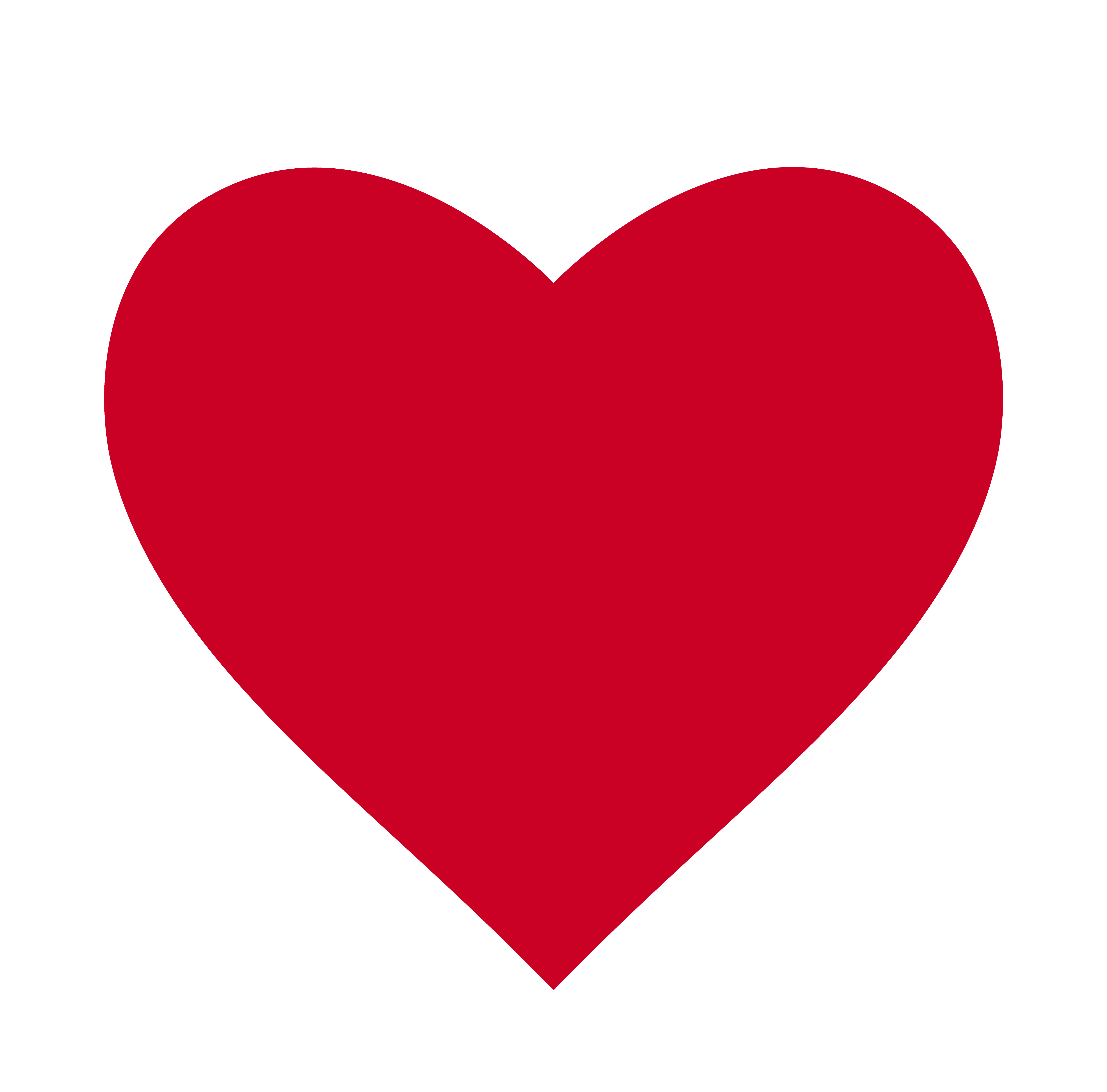 Heart, Symbol of Love and Valentine's Day. Flat Red Icon ...