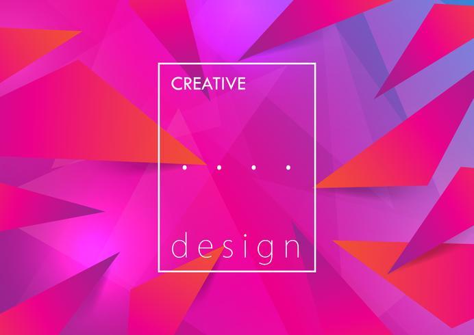 Kreativer Designhintergrund