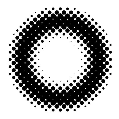 Meio-tom vetorial detalhada para planos de fundo e desenhos