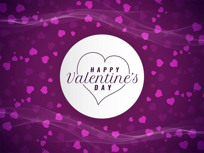 Abstract Happy Valentine's day elegant background
