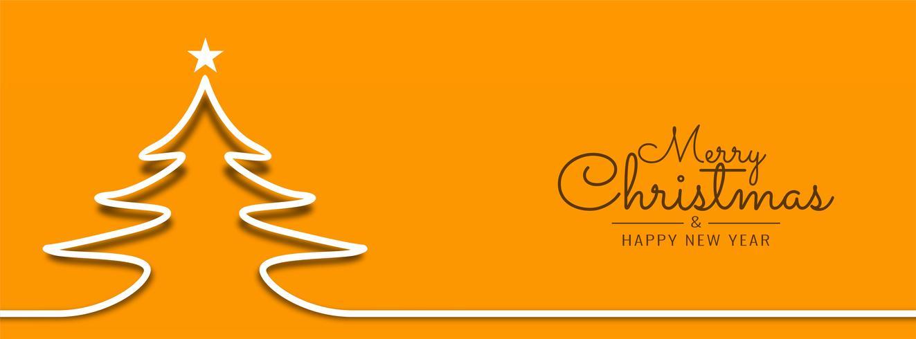 Plantilla de banner brillante Resumen feliz Navidad