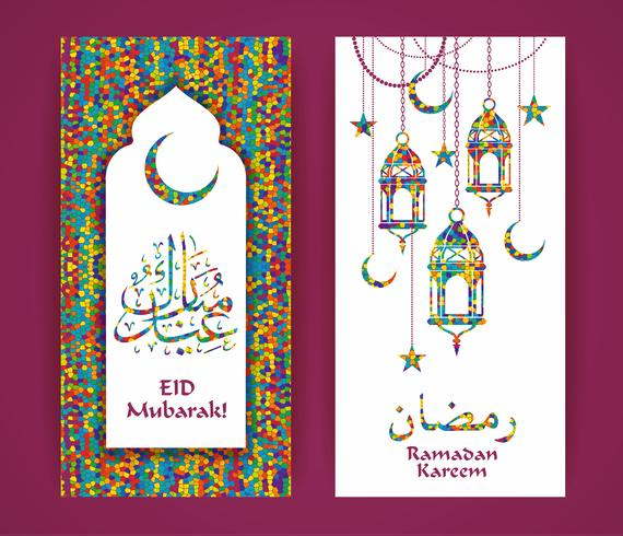 Ramadan Kareem. Vektor-Illustration.