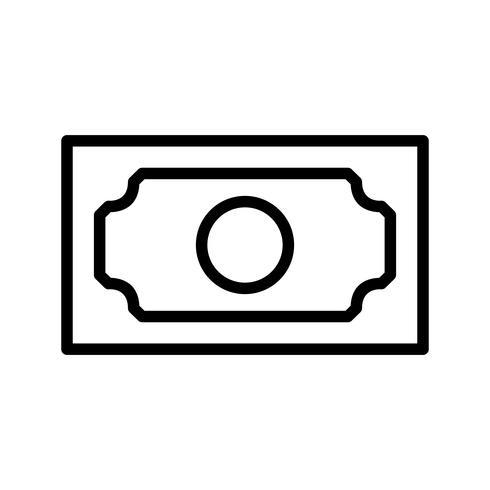 Bank note Vector Icon