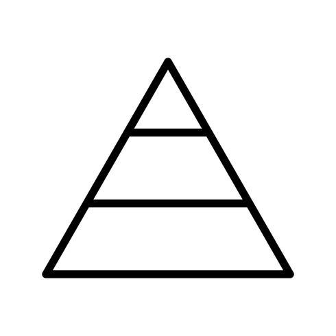 Piramide Vector Icon