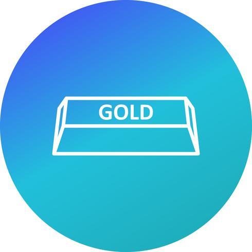 Guld vektor ikon
