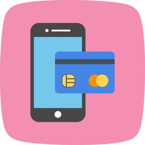 Services bancaires mobiles Vector Icon