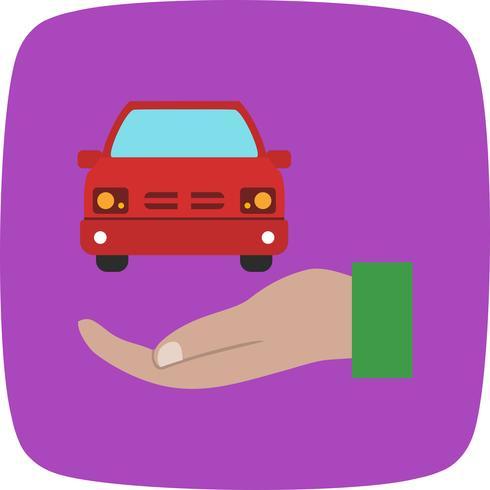 Car insurance Vector Icon
