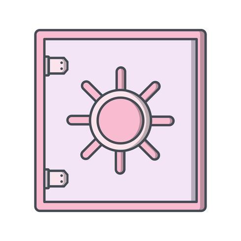 Icono de vector seguro