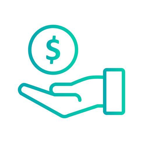 Ícone de vetor de empréstimo