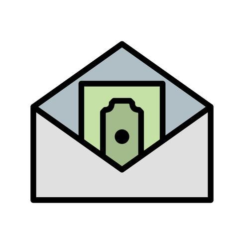 Geld-Vektor-Symbol senden