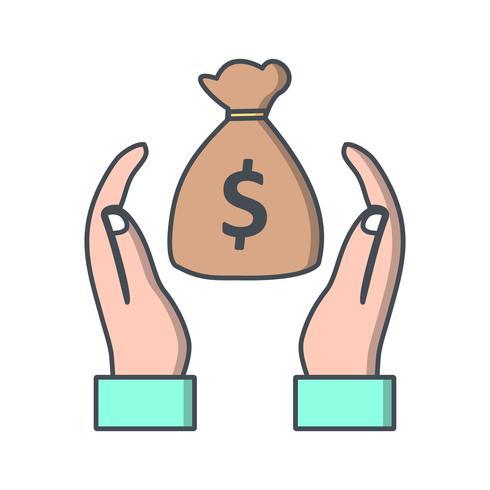 Besparingen Vector pictogram