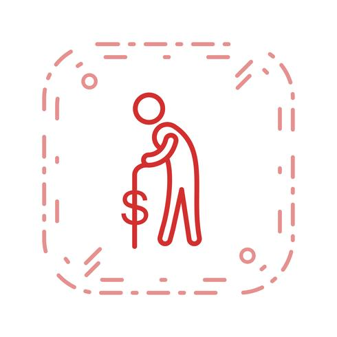 Pension Vector Icon
