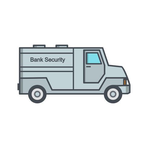 Security Van Vector Icon