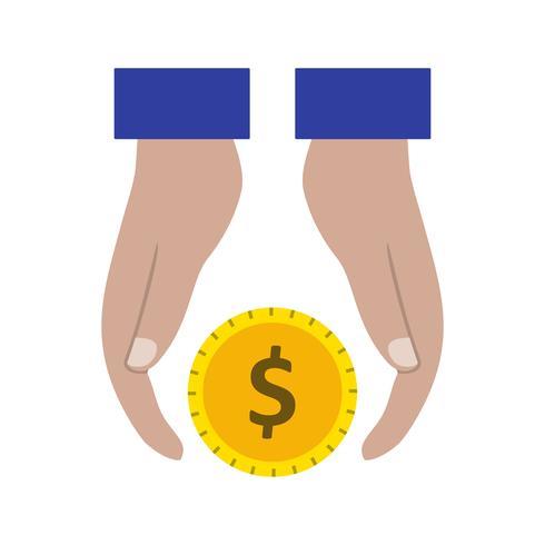 Icona di vettore di prestito