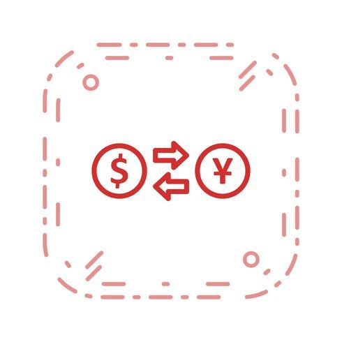Exchange rate Vector Icon