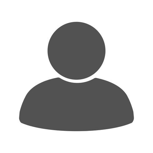 Icona di vettore del mediatore