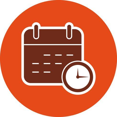 affärsdatum vektor ikon