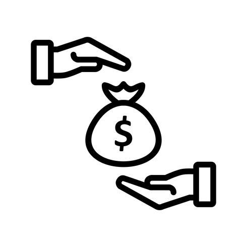Icono de Vector de soborno