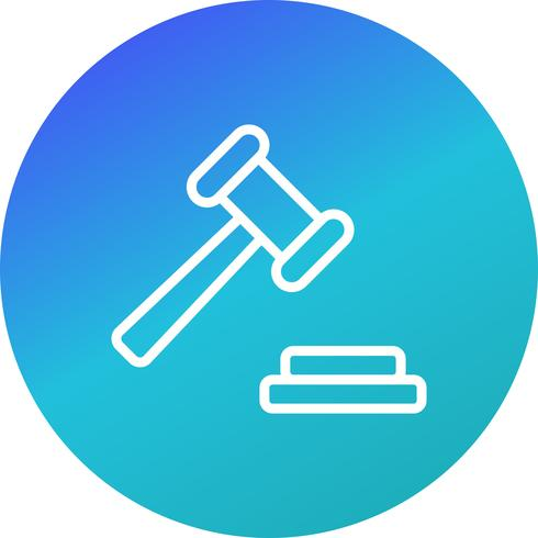 Auction Vector Icon
