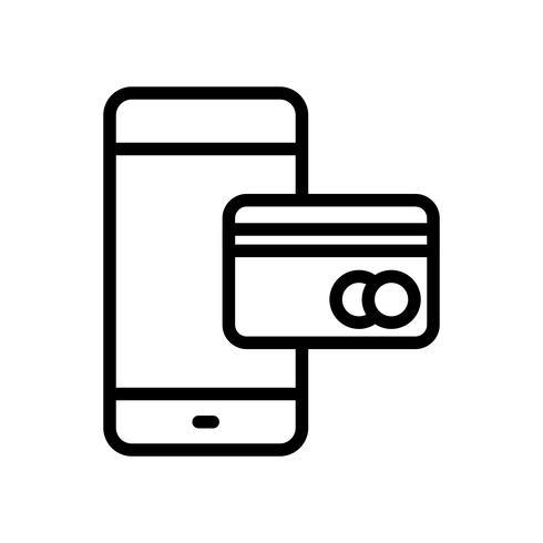 mobilbank vektorikonen