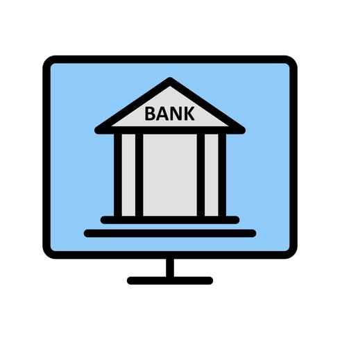Internet Banking Vector Icon