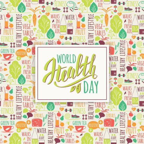 World health day concept.