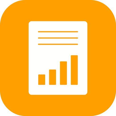 Icona di vettore di contabilità