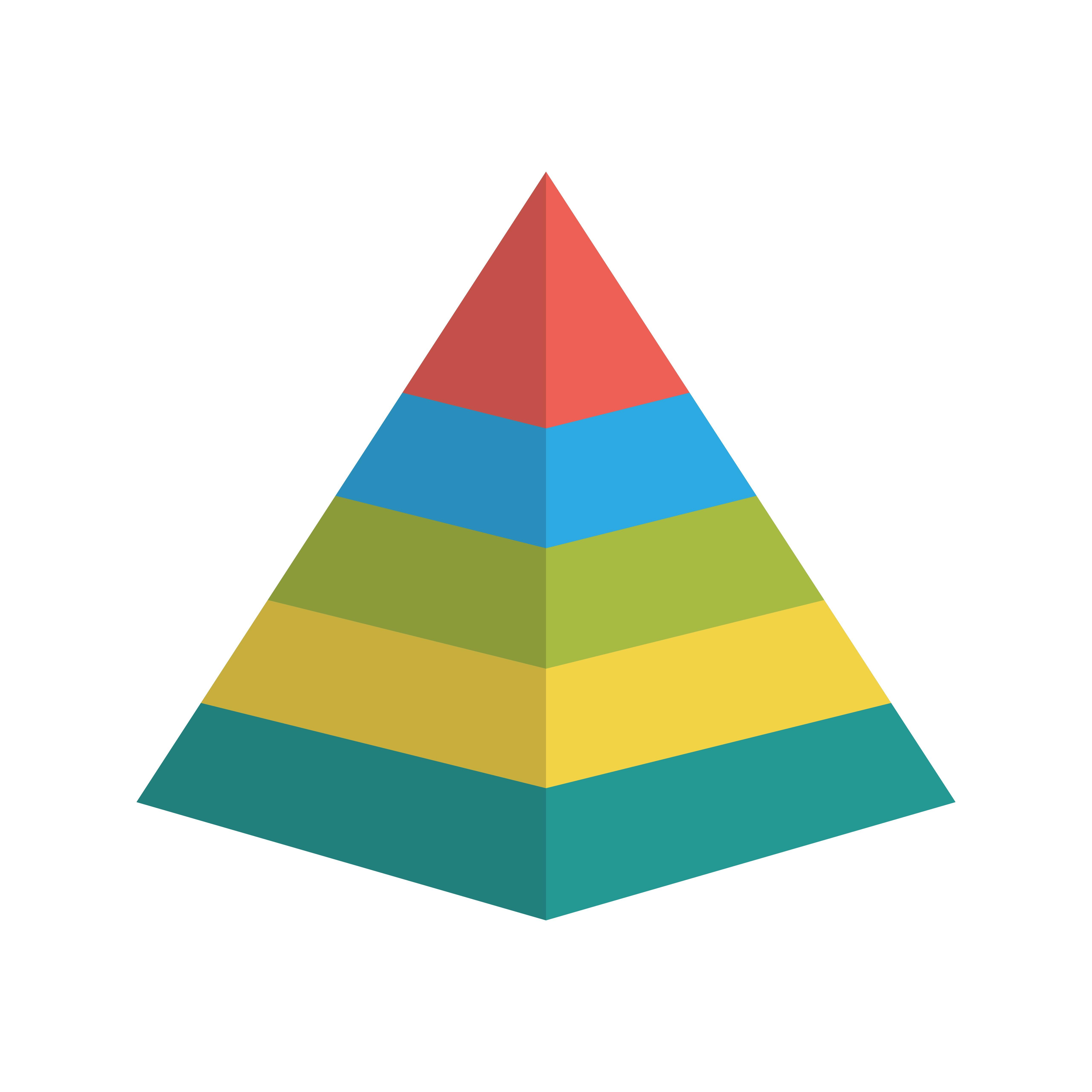 Pyramid Vector Icon Download Free Vector Art Stock