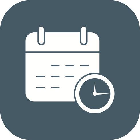 Icono de Vector de plazo de negocios