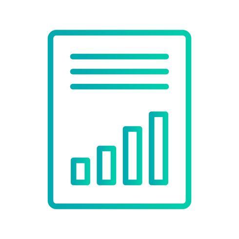 Icono de vector de contabilidad