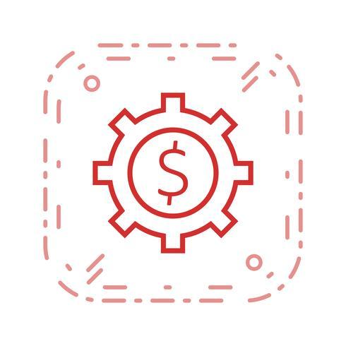 Icono de Vector de engranaje de negocios