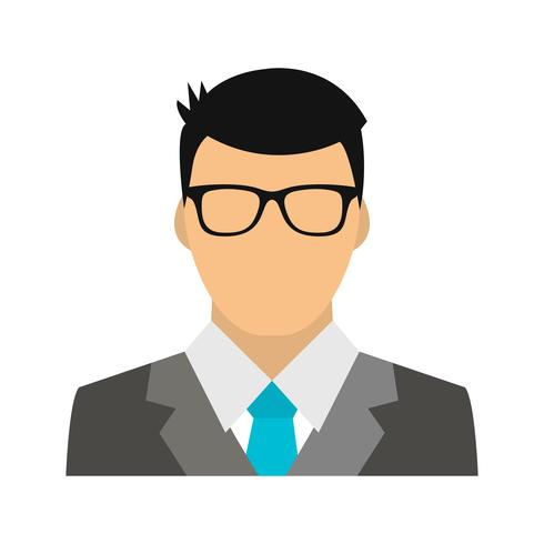 Icona di vettore del banchiere