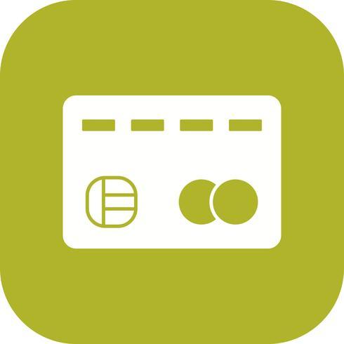Tarjeta de crédito Vector icono