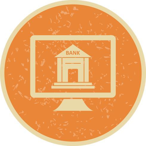 Internet Banking Vector Icon