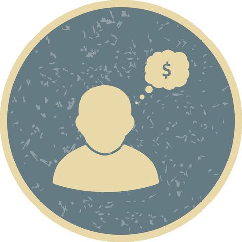 Geschäftsdenken Vektor Icon