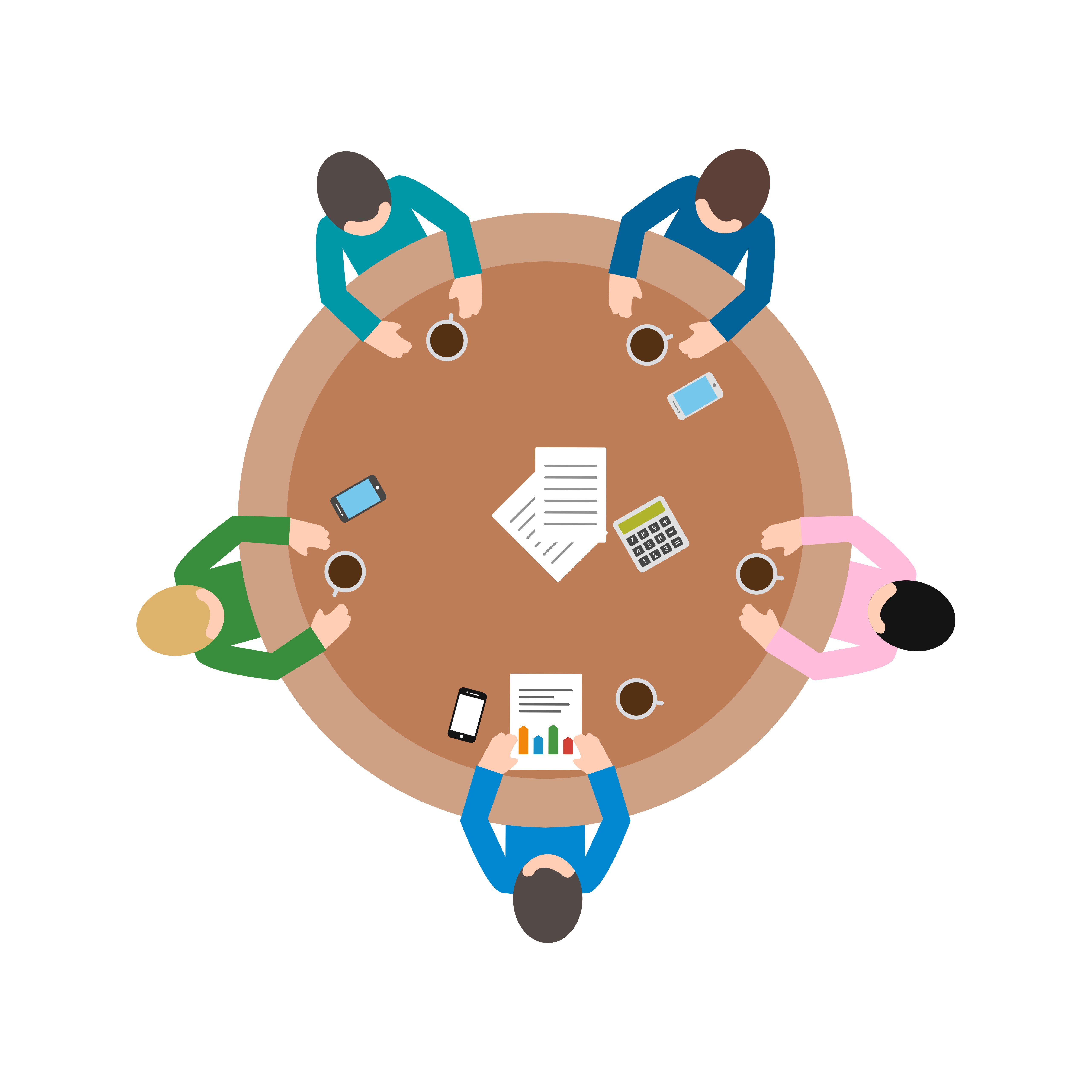 meeting vector icon