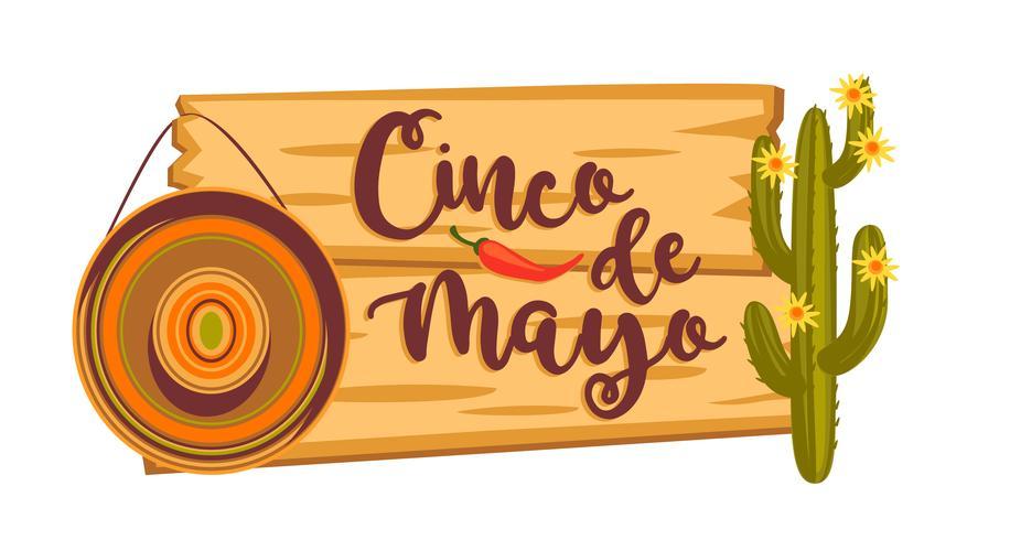 Cinco de Mayo. Ilustracion vectorial