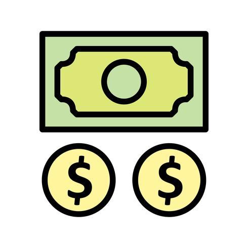 Icono de vector de beneficio