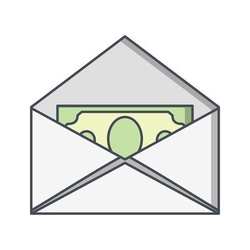 Sending Money Vector Icon