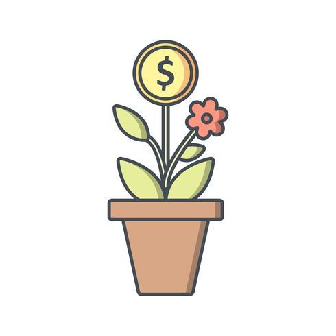 Árbol de negocios Vector icono
