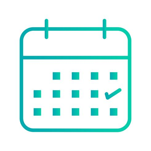 Business Calendar Vector Icon