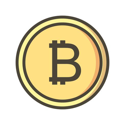 bitcoin vector pictogram
