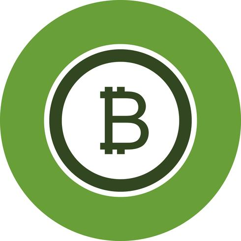 Bitcoin-Vektor-Symbol