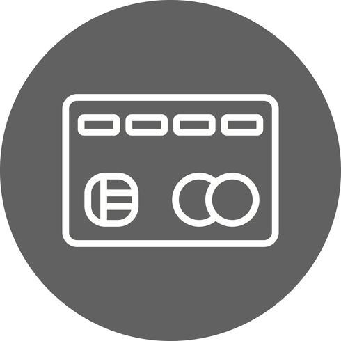 Creditcard Vector pictogram