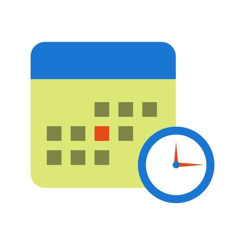 Business Deadline Vector Icon